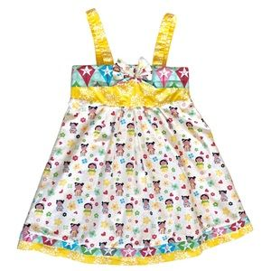 Jelly The Pug Kokeshie Coley Dress